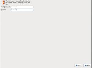 Установка OSdial ввода пароля root