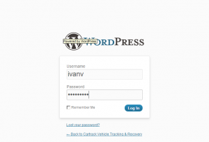 wordpress вход в панель администратора