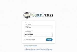 wordpress вход в панель администратора