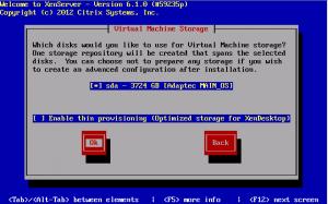 Установка Citrix XenServer