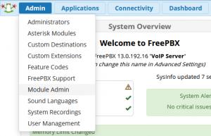 Module Admin