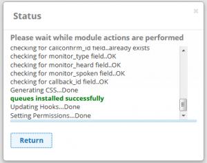 Install Queue module