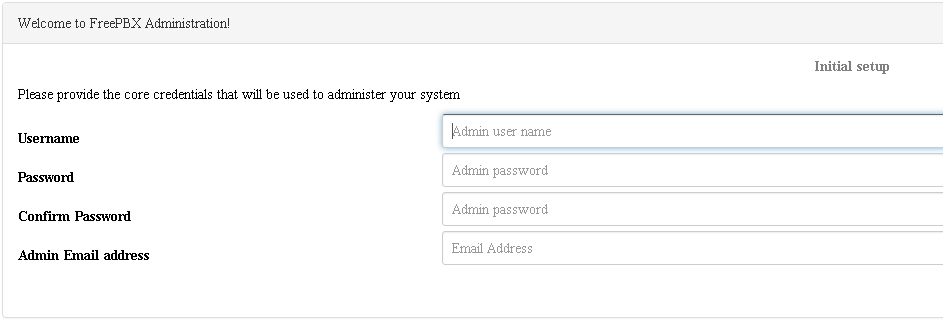 Настройка сервера с asterisk и Freepbx 14 версии –Настройка сервера